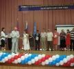 Вручение Л.П. Казанцевой диплома лауреата конкурса, 2010 год