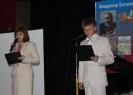 О. И. Луконина (слева) на вечере памяти В. М. Богомолова